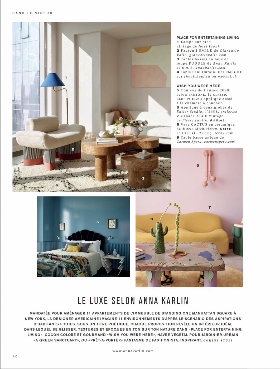 Decoration Interieur Appartement Vintage print | categories | anna karlin